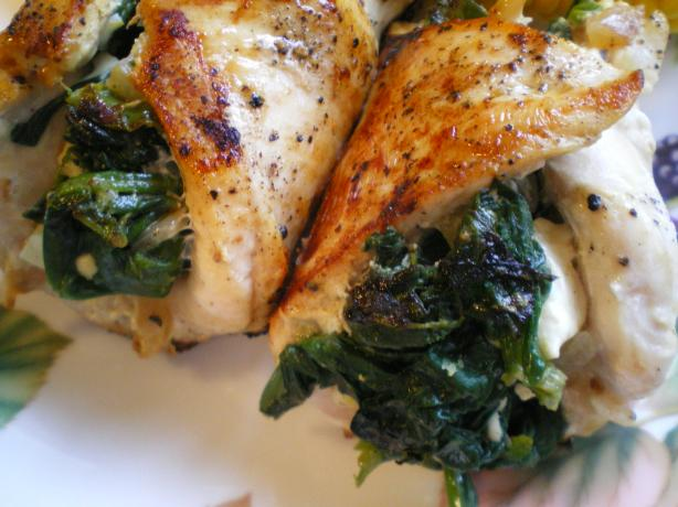 spinach stuffed chicken breasts recipe key ingredient spinach and feta ...