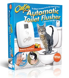 Citikitty Automatic Toilet Flusher