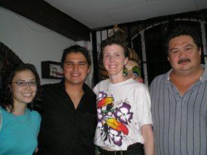 June 2006: Hanna, Gera, Sara, Arnaldo