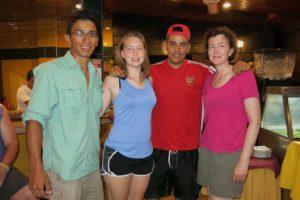 2014: Edgar, Laura, Juan Carlos, Sara